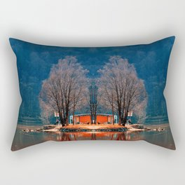 Gone fishing | waterscape photography Rectangular Pillow