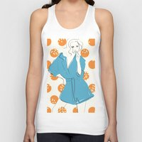 model Tank Tops featuring Model by Erica Pizzetti
