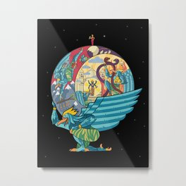 Garuda's Story Metal Print
