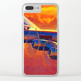 Boeing B-29 Superfortress Clear iPhone Case