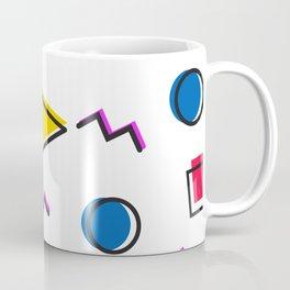 1980s retro pattern (Version 2) Coffee Mug