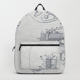 Electric Guitar 2 Backpack