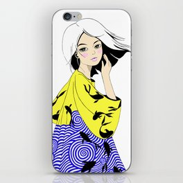 Kois and Waves iPhone Skin