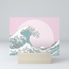 Great Wave Pastel Mini Art Print