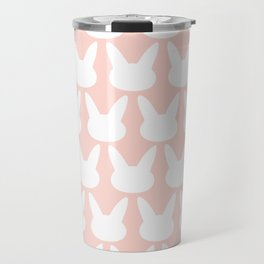 Bunny Pattern powder Travel Mug