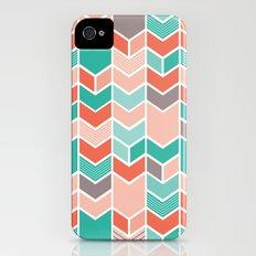 Multi Colored Chevron Slim Case iPhone (4, 4s)