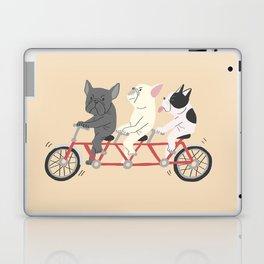 tandem bike Laptop & iPad Skin