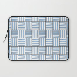 symetric tartan and gingham 7 -vichy, gingham,strip,square,geometric, sober,tartan Laptop Sleeve
