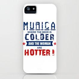 Murica iPhone Case