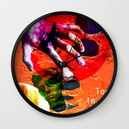 look in the junk pool Wall Clock
