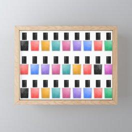 Nail Polish Framed Mini Art Print