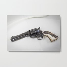 Guns Of The Old West - Colt .45, #4 Metal Print
