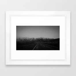 Arthurs Pass Highway Framed Art Print