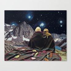 SLEEPLESS Canvas Print
