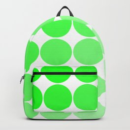 Green Circle Color Chart Backpack