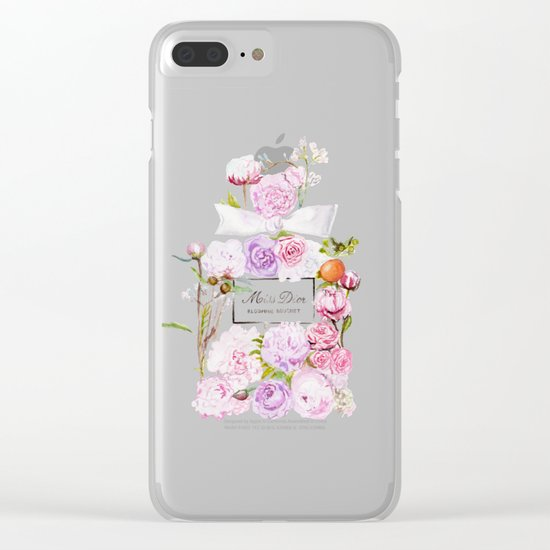 Parfum Blooming Bouquet Clear iPhone Case