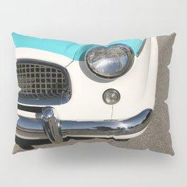 Vintage Car Headlight Pillow Sham