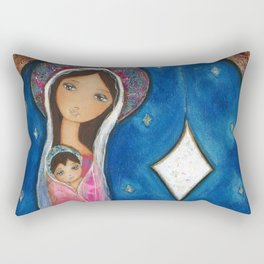 Nativity Star III by Flor Larios Rectangular Pillow