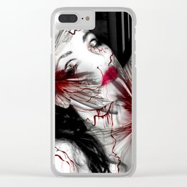 Broken Doll Clear iPhone Case