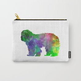 Portuguese Sheepdog in watercolor Carry-All Pouch