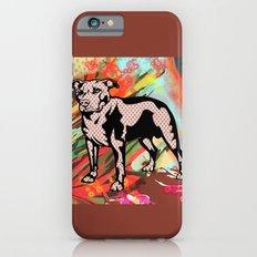 Super dog pop art Slim Case iPhone 6s