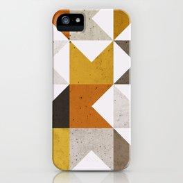 Mid Century Geometric 21 iPhone Case