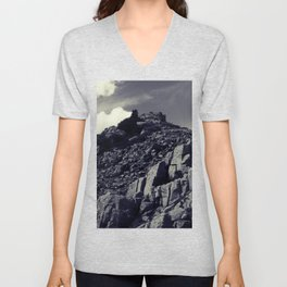 Castle in the Clouds Unisex V-Neck