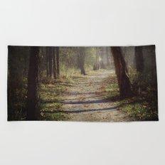 Wicked Woods Beach Towel