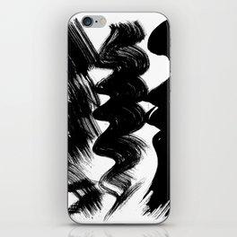 Brush stroke iPhone Skin