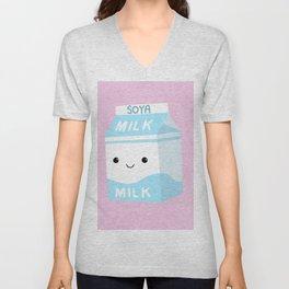 Soya Milk Unisex V-Neck
