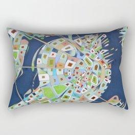city map Rectangular Pillow