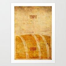 Temple (aged) Art Print