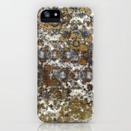 Jaguar Marble - Stone & Gold Texture iPhone Case