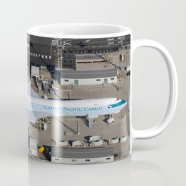 Cathay Pacific Cargo Boeing 747-8 Freighter Coffee Mug