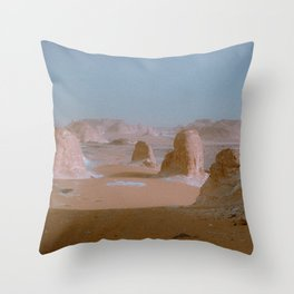 Agabat - barriers Throw Pillow