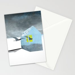 Arctic birds of a feather Stationery Cards