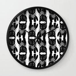 Feral Cat Wall Clock