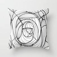 deco Throw Pillows featuring Deco by GiovZz.