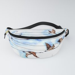 Air Canada Goose Fanny Pack