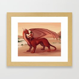 Dragon Kin Framed Art Print