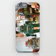 Vintage Robots iPhone 6s Slim Case