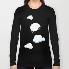 Nuages et mouton Long Sleeve T-shirt