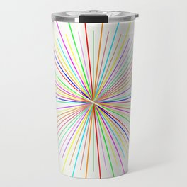 Strands Of Light - Defraction Pattern Travel Mug