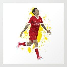 Philippe Coutinho - Liverpool Art Print