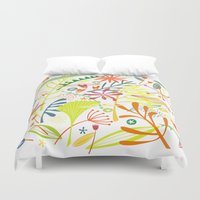 tropical Duvet Covers featuring Tropical by Nic Squirrell