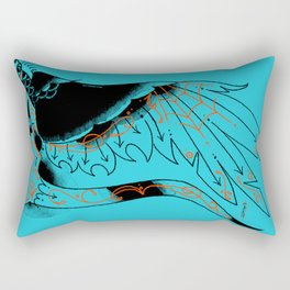 BOURDE blu Rectangular Pillow