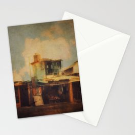 Fisherman Houses Stationery Cards