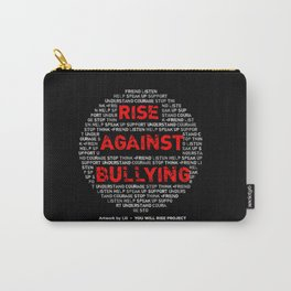 Rise Against Bullying, by Lili Carry-All Pouch