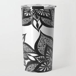Floral Fantasy Travel Mug