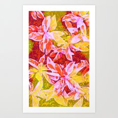 Tropical Punch Art Print
